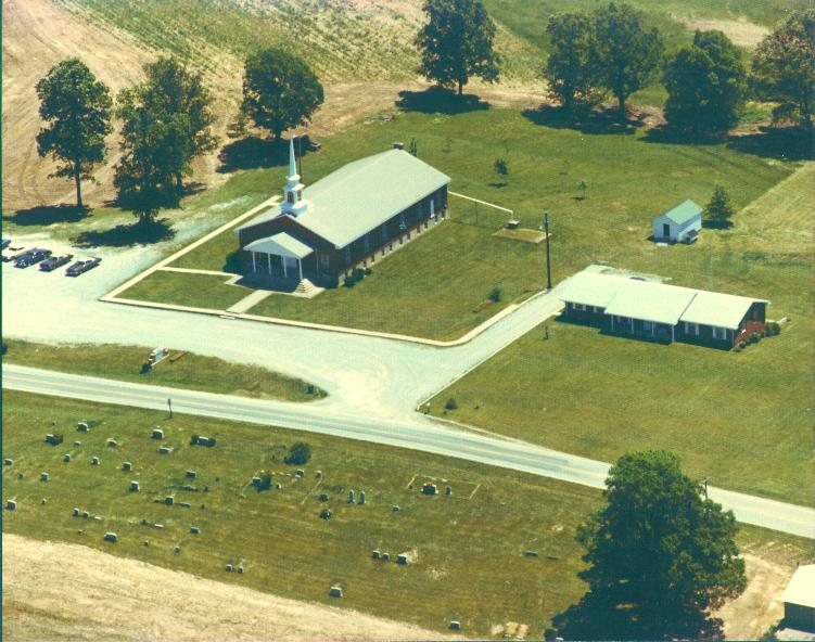 Aerial View of Church