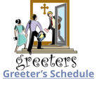 Greeter's Schedule